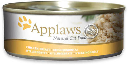 Picture of Applaws Cat Tin Chicken Breast 24 x 70g
