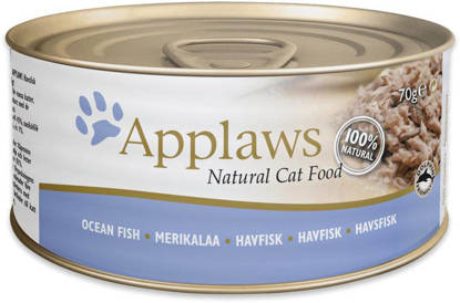 Picture of Applaws Cat Tin Ocean Fish 24 x 70g