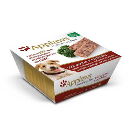 Picture of Applaws Dog Pate - Chicken 7 x 150g