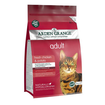 Picture of Arden Grange Cat Grain Free - Chicken 2kg