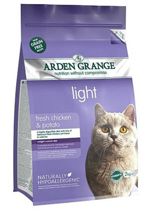 Picture of Arden Grange Cat Grain Free Light 2kg