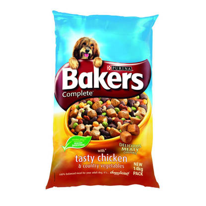 Picture of Bakers Complete Chicken & Veg - 14kg