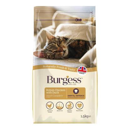 Picture of Burgess Cat Chicken / Duck - 10kg