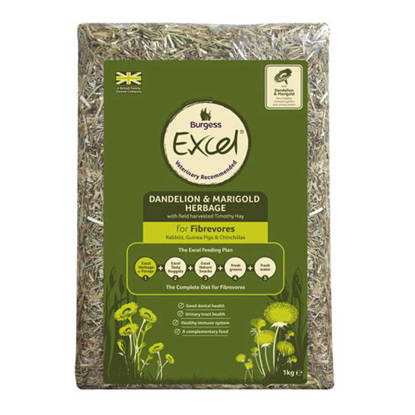 Picture of Excel Fresh Herbage Timothy Hay 6 x 1kg