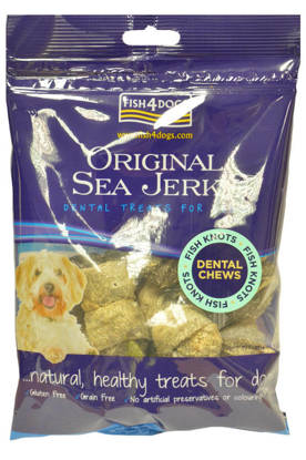 Picture of Fish4Dogs Sea Jerky Fish Knots - 100g
