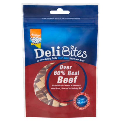 Picture of Good Boy Deli Bites Beef - 65g