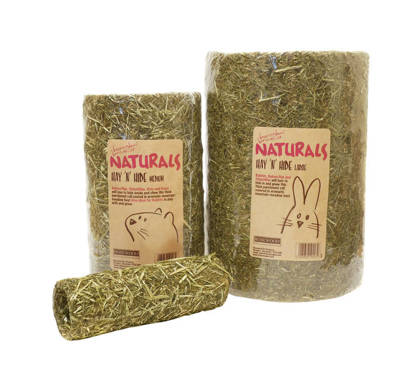 Picture of Naturals Hay n Hide Gnaws Tube - Small