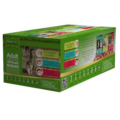 Picture of Natures Menu Cat Multipack Pouch 48 x 100g