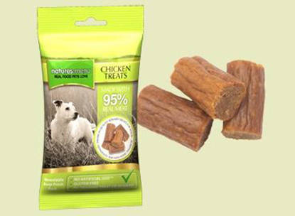 Picture of Natures Mene Dog Treats Chicken - 12 x 60g