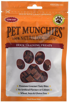 Picture of Pet Munchies Dog Duck Trianing Treats 8 x 50g