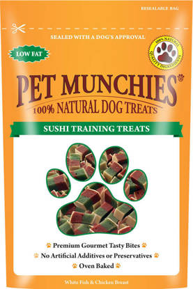Picture of Pet Munchies Dog Training Treats Sushi - 8 x 50g
