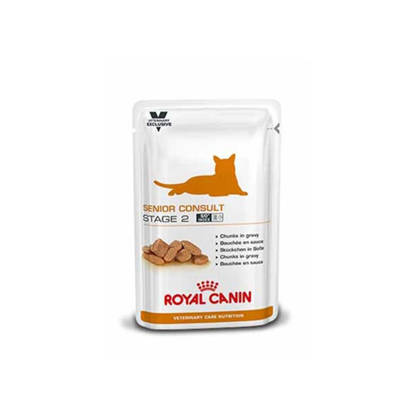 Picture of Royal Canin Veterinary Care RCVCNF Senior-2 Feline - 48 x 100g