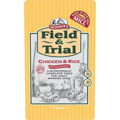 Picture of Skinners Field / Trial Chicken & Rice - 15kg