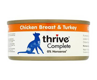 Picture of Thrive Cat Tin Chicken / Turkey -12 x 75g