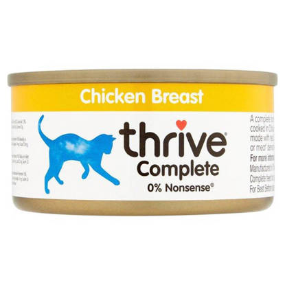 Picture of Thrive Cat Tin Chicken -  12 x 75g