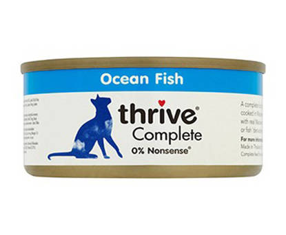 Picture of Thrive Cat Tin Ocean Fish - 12 x 75g