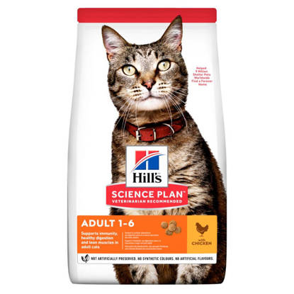 Picture of Hills Adult Feline 1-6 Years Chicken 3kg