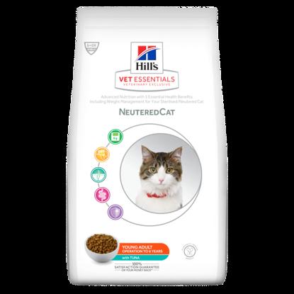 Picture of Hills Vet Essentials Feline Neutered Tuna 3kg