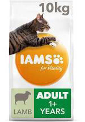 Picture of Iams Vitality Cat Adult Lamb 10kg