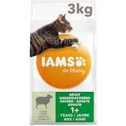 Picture of Iams Vitality Cat Adult Lamb 2kg