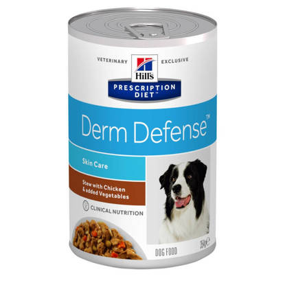 Picture of Hills Veterinary Diets Dog Derm Defence stew 12 x 354g