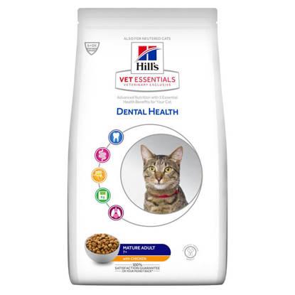 Picture of Hills Vet Essentials Feline Dental Health Mature 7+ Adult 1.5kg