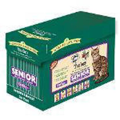 Picture of James Wellbeloved Turkey Grain Free Senior Cat Pouches 85g 12 x 4
