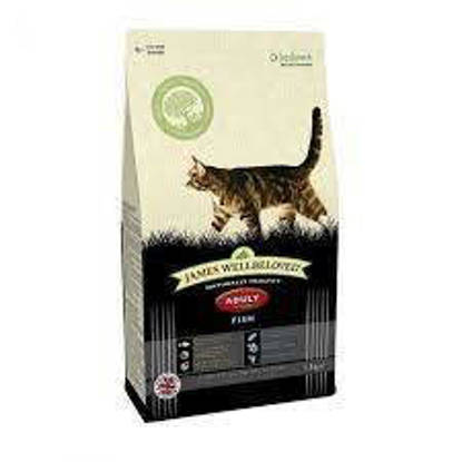 Picture of James Wellbeloved Fish and Rice Adult Cat 10kg