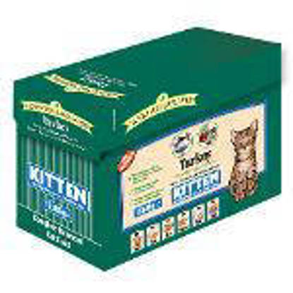 Picture of James Wellbeloved Turkey Kitten Pouches 85g 12 x 4