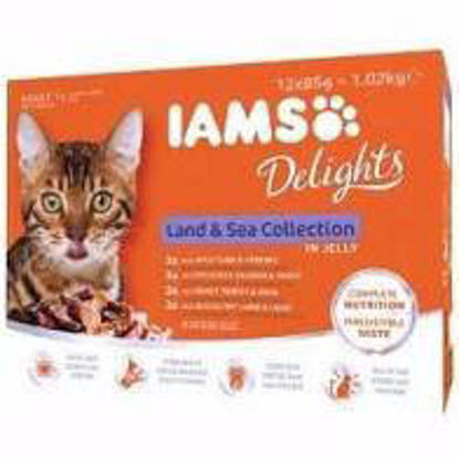 Picture of Iams Delights Land & Sea in Jelly 12 x 85g