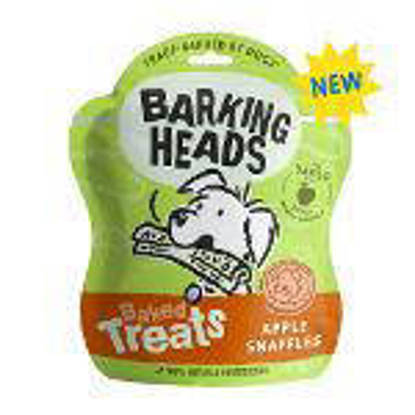 Picture of Barking Heads Apple Snaffle Dog Treats - 100g