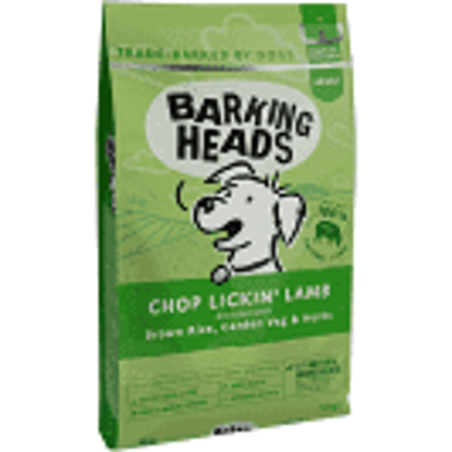 Picture of Barking Heads Chop Lickin Lamb Dry - 12kg