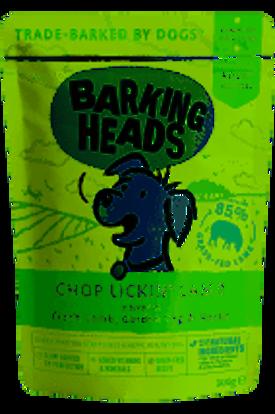 Picture of Barking Heads Chop Lickin Lamb Wet - 10 x 300g