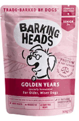 Picture of Barking Heads Golden Years Wet - 10 x 300g
