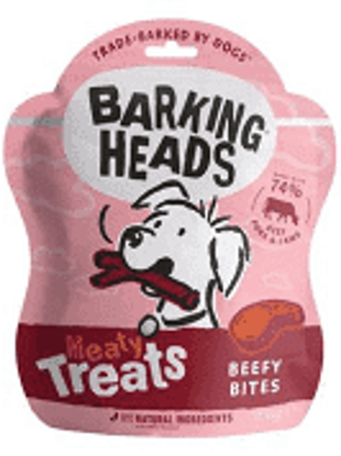 Picture of Barking Heads Meaty Treat Beef Bites - 100g