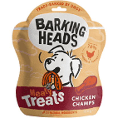 Picture of Barking Heads Meaty Treats Chicken Champs - 100g