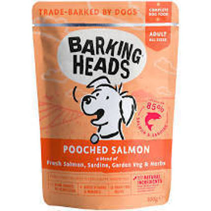Picture of Barking Heads Pooched Salmon Wet - 10 x 300g