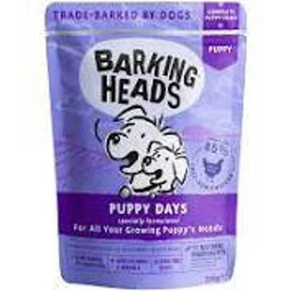Picture of Barking Heads Puppy Days Wet - 10 x 300g