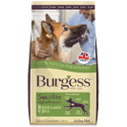 Picture of Burgess Sensitive Lamb and Rice 12.5kg