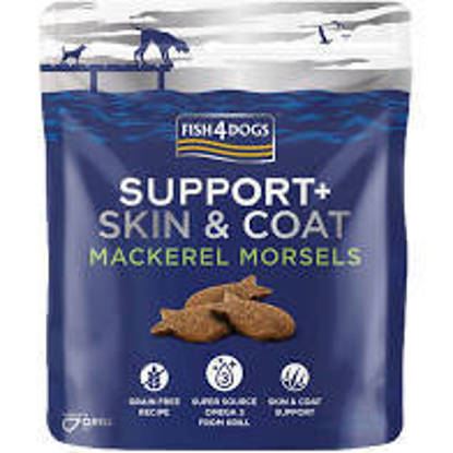 Picture of Fish4Dogs Mackerel Morsels Coat / Skin - 225g