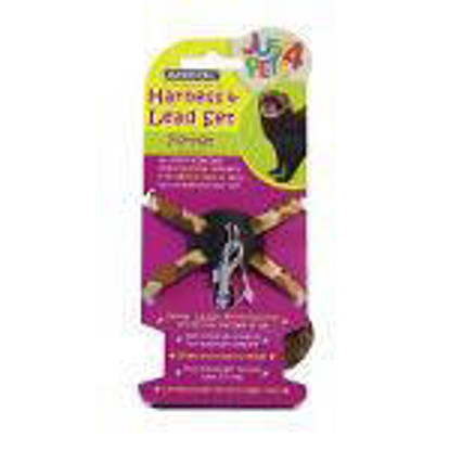 Picture of Just 4 Pets Ferret Harness and Lead Set