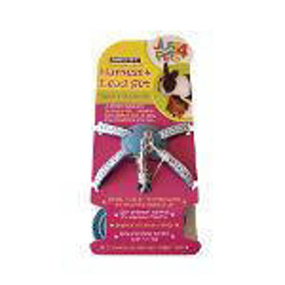 Picture of Just 4 Pets Rabbit Harness and Lead Set Blue